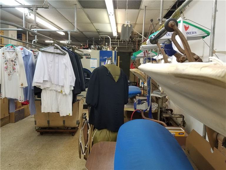 Dry Cleaner in the Busy Shop-Rite Shopping Center