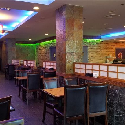 Modern, beautiful Sushi, Japanese Restaurant