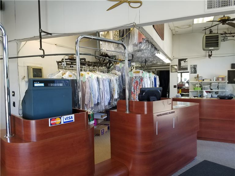 Well Established Dry Cleaning with Drop Store